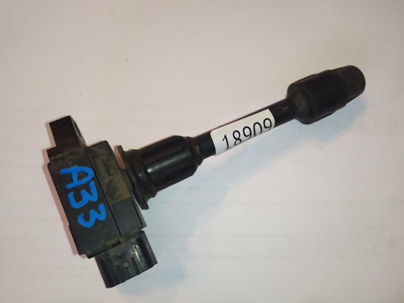 Катушка зажигания Nissan Cedric A33 VQ20-DE передняя левая (б/у)