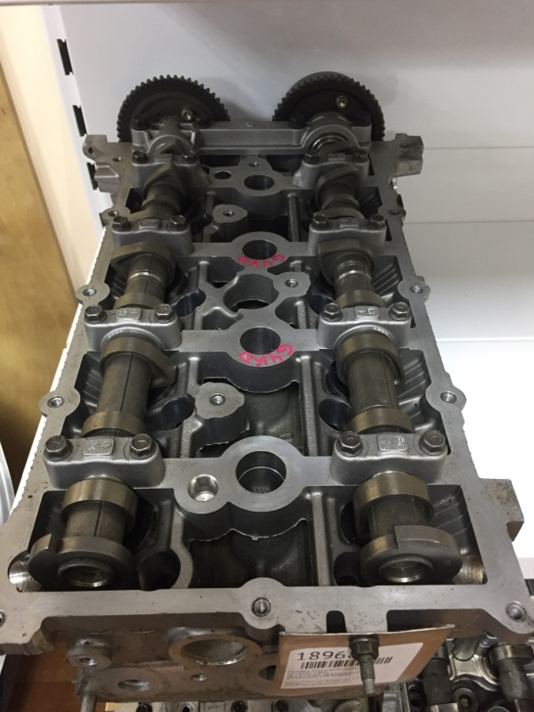 Головка блока цилиндров Kia G4KD (б/у)