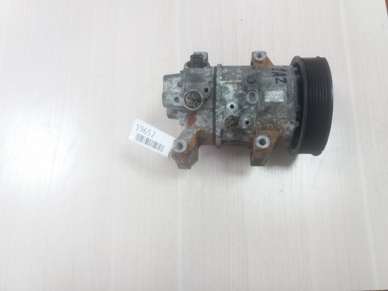 Компрессор кондиционера Toyota Gaia AZR60 1AZ (б/у)