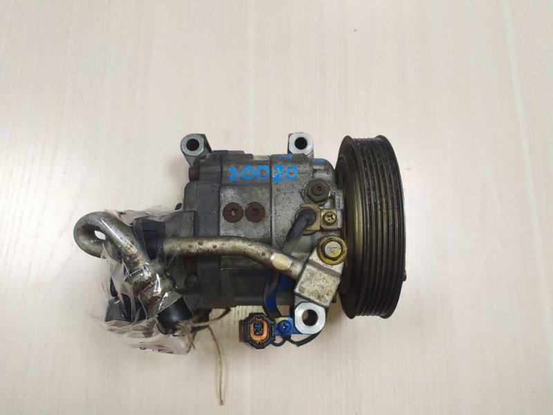 Компрессор кондиционера Nissan Avenir BVFY11 QG13 (б/у)