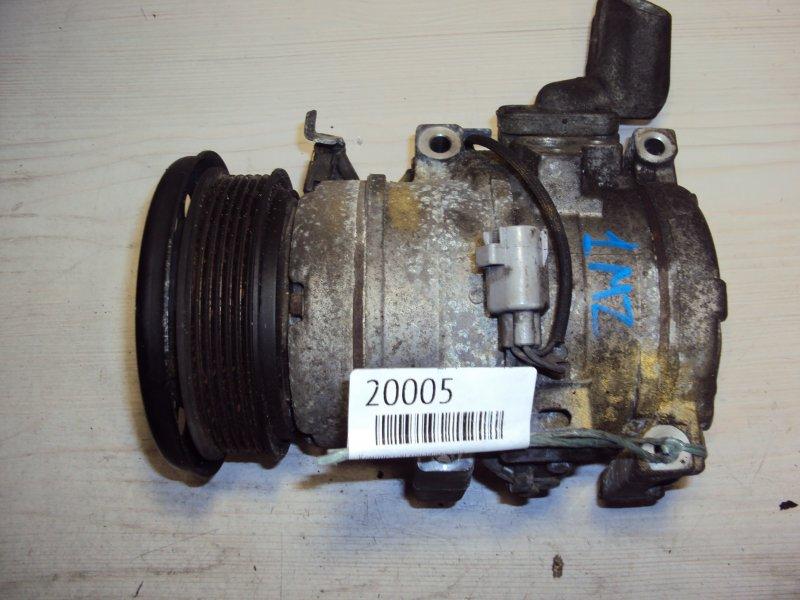 Компрессор кондиционера Toyota Estima MNH10 1MZ (б/у)