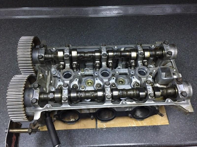 Головка блока цилиндров Mitsubishi 6G74 (б/у)