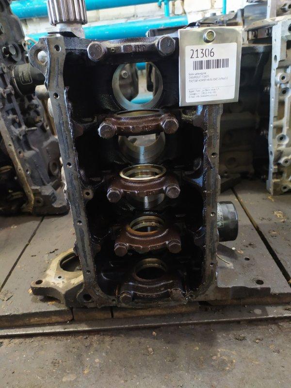 Блок цилиндров Chevrolet F16D3 (б/у)