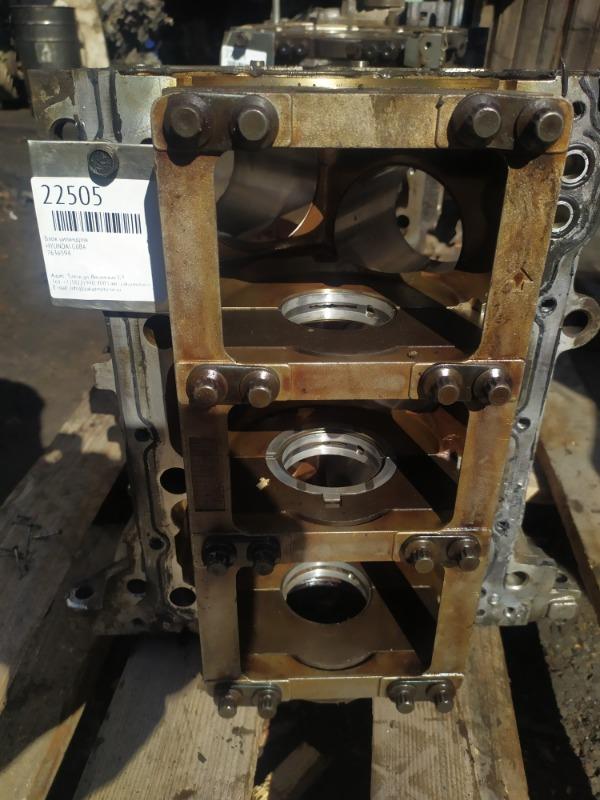 Блок цилиндров Hyundai G6BA (б/у)