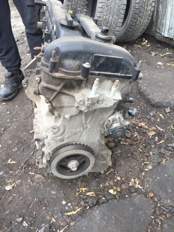 Лобовина двс Mazda 6 LFVE (б/у)