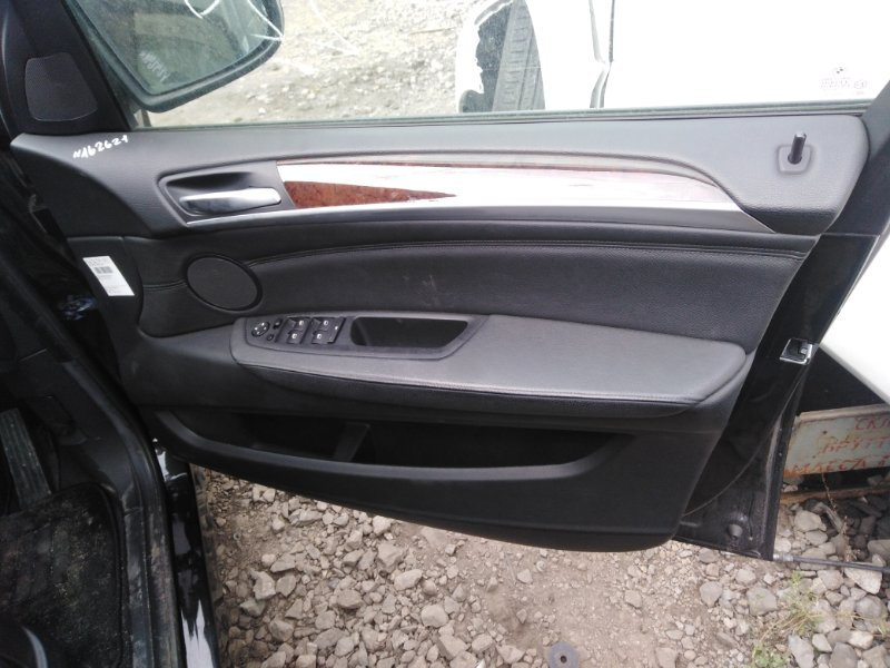 Обшивка двери Bmw X5 E70 N52 2008 передняя правая (б/у)