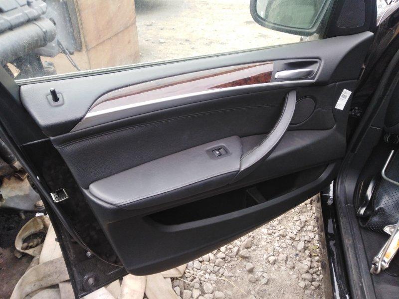 Обшивка двери Bmw X5 E70 N52 2008 передняя левая (б/у)