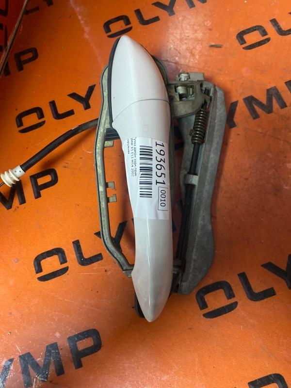Ручка двери Bmw X5 E53 M54 2002 задняя правая (б/у)