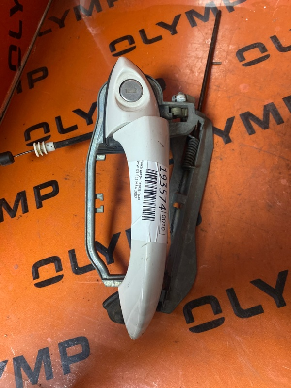Ручка двери Bmw X5 E53 M54 2002 передняя правая (б/у)