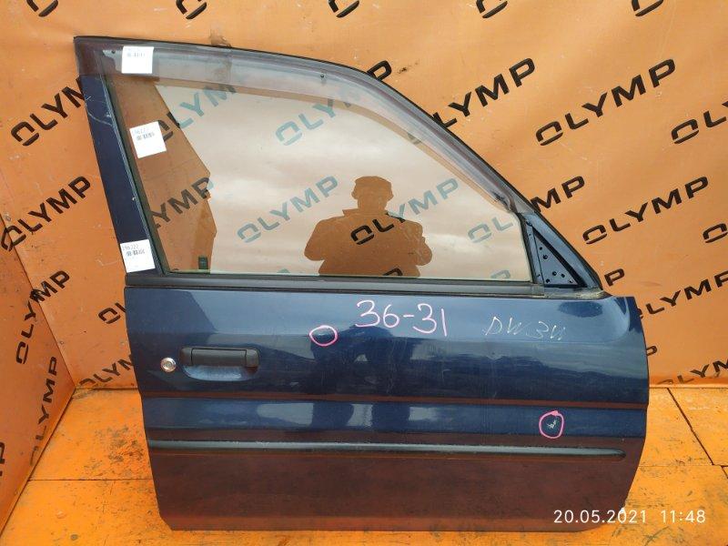 Дверь Mazda Demio DW3W B3 передняя правая (б/у)