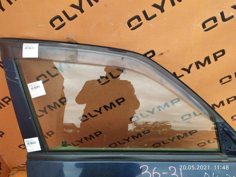 Стекло двери Mazda Demio DW3W B3 переднее правое (б/у)