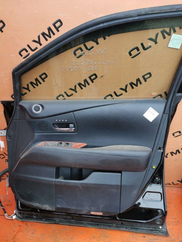 Обшивка двери Lexus Rx270 AGL10 1AR-FE передняя правая (б/у)