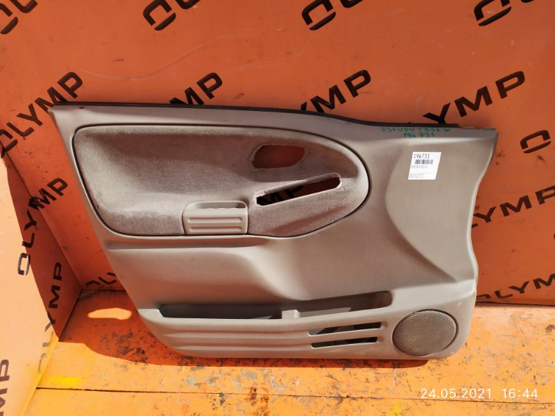 Обшивка двери Suzuki Escudo TD52W J20A передняя левая (б/у)