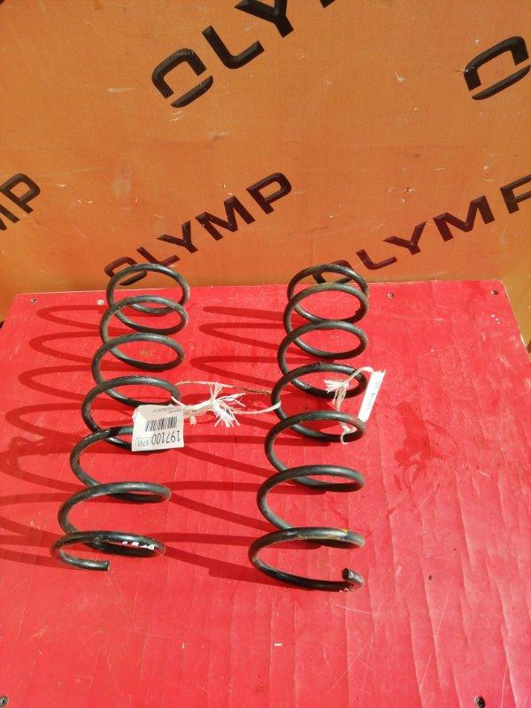Пружина Mazda Demio DW3W B3 2000 задняя (б/у)
