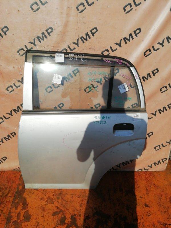 Дверь Suzuki Alto HA24S K6A задняя левая (б/у)