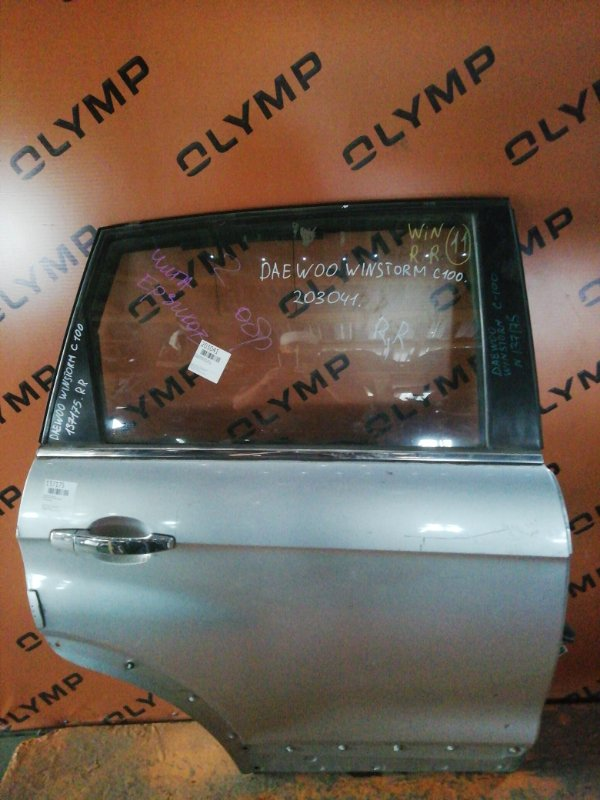 Дверь Daewoo Winstorm C100 задняя правая (б/у)