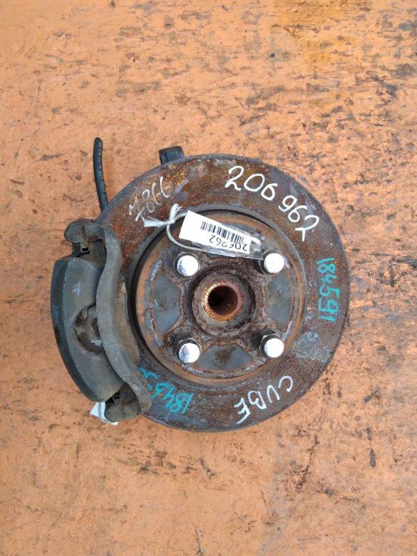 Тормозной диск Nissan Cube BGZ11 CR14 передний (б/у)