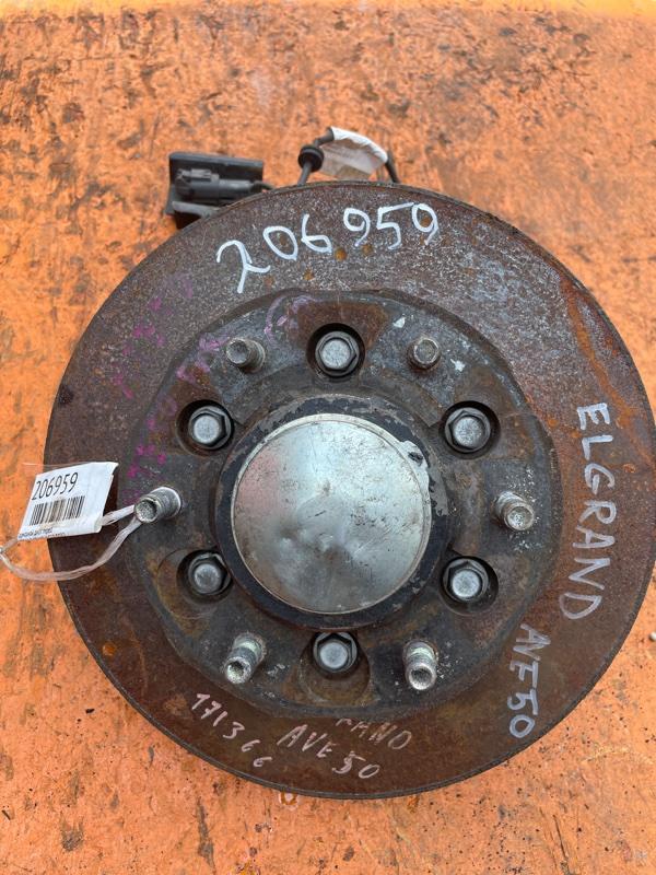 Тормозной диск Nissan Elgrand AVE50 QD32 передний (б/у)