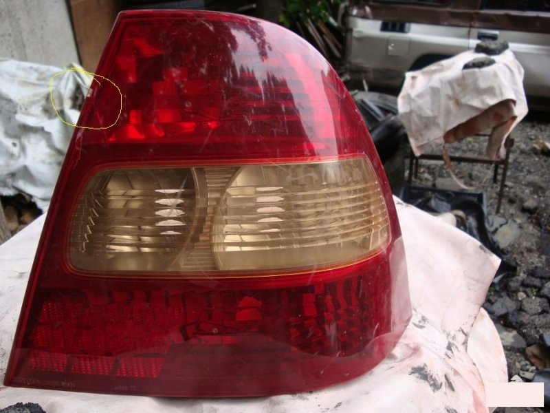 Стоп-сигнал Toyota Corolla 120 задний правый (б/у)