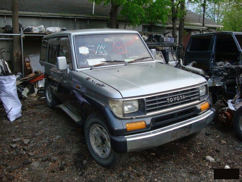 Капот Toyota Land Cruiser Prado LJ78 2LTE (б/у)