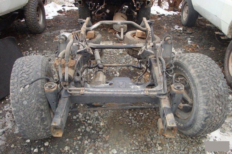 Шланг гидроусилителя Toyota Land Cruiser Prado KZJ78W 1KZTE передний (б/у)