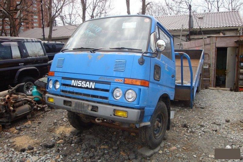 Кузов-площадка Nissan Atlas AH40 BD30 (б/у)