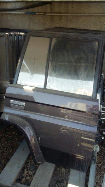 Дверь боковая Toyota Land Cruiser Prado KZJ78 1KZTE задняя правая (б/у)