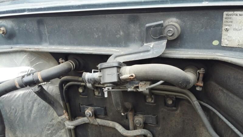 Кран печки Toyota Land Cruiser Prado KZJ78KZJ71LJ78LJ71 1KZTE2LTE передний (б/у)