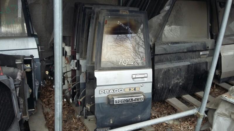 Дверь багажника Toyota Land Cruiser Prado KZJ78 1KZTE задняя левая (б/у)