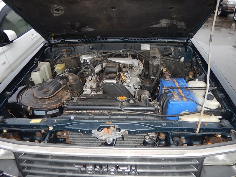 Дверь багажника Toyota Land Cruiser Prado KZJ71W 1KZ-TE 1994 задняя (б/у)
