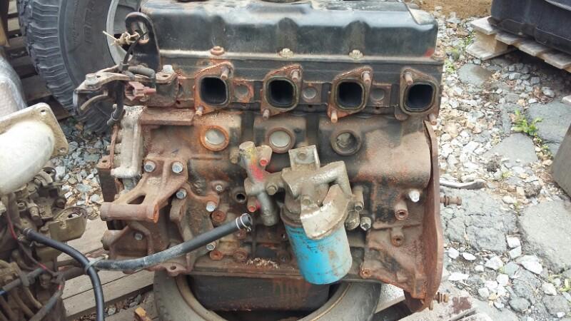 Двигатель Nissan Atlas AH40 TD27 (б/у)