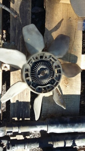 Крыльчатка вентилятора Toyota Land Cruiser Prado LJ78 LJ71 2LTE (б/у)