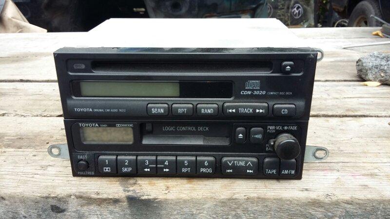Магнитофон Toyota Land Cruiser Prado HZJ77V 1HZ 1999 (б/у)