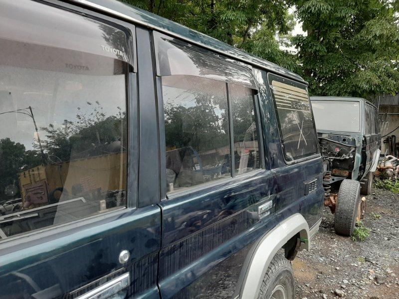 Стекло двери Toyota Land Cruiser Prado KZJ78 1KZ-TE 1995 заднее левое (б/у)