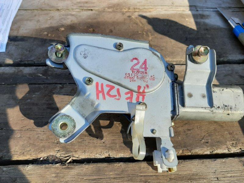 Мотор дворников Toyota Land Cruiser Prado HZJ77V 1HZ 1999 задний (б/у)
