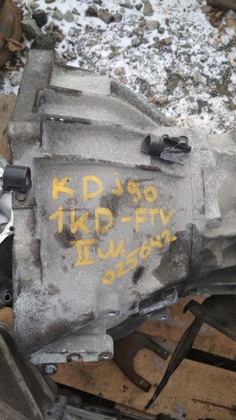 Колокол кпп Toyota Land Cruiser Prado KDJ95 1KDFTV 2000 (б/у)
