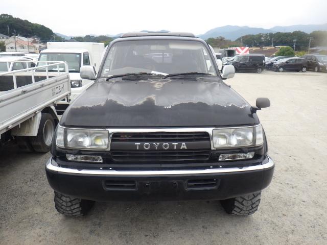 Акпп Toyota Land Cruiser FZJ80 1FZ-FE 1993 (б/у)