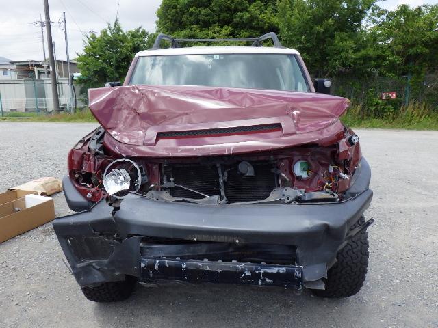 Рычаг подвески Toyota Fj Cruiser GSJ15L 1GR-FE 2012 передний верхний (б/у)