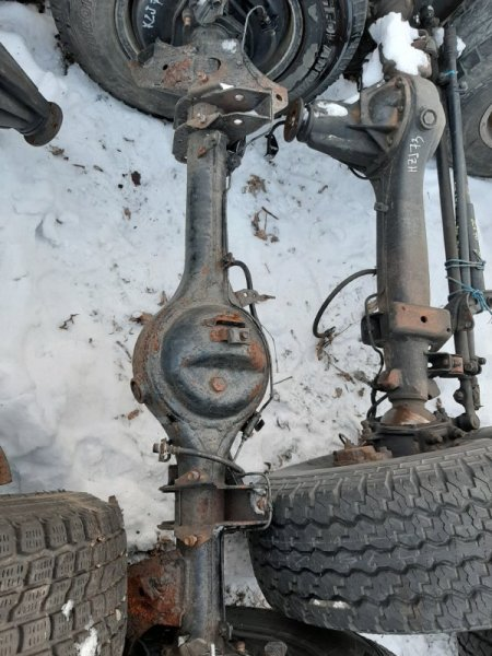 Чулок моста Toyota Land Cruiser Prado KZJ78 1KZ-TE 1994 задний (б/у)