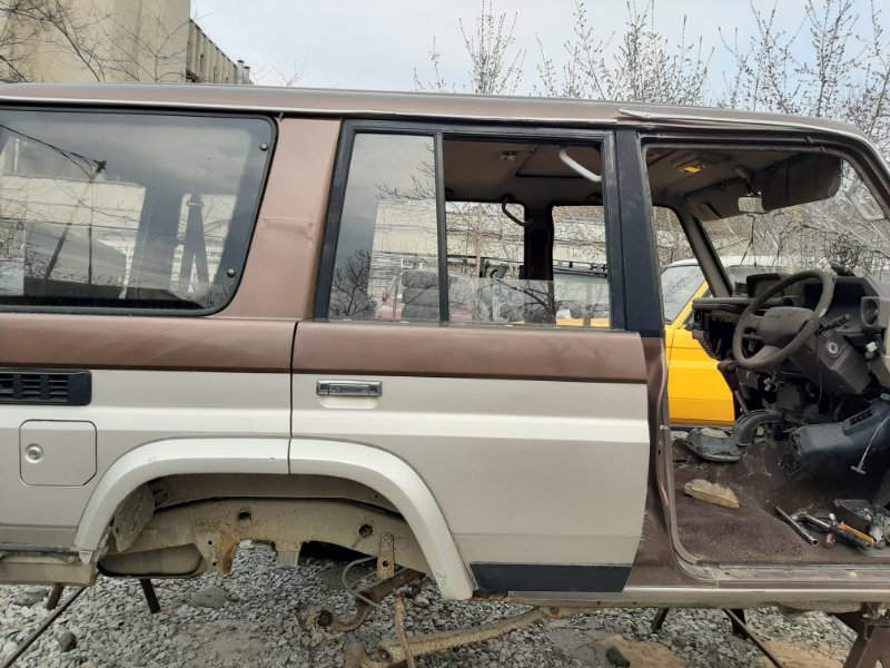 Дверь Toyota Land Cruiser Prado KZJ78 LJ78 1KZTE 2LTE 1993 задняя правая (б/у)
