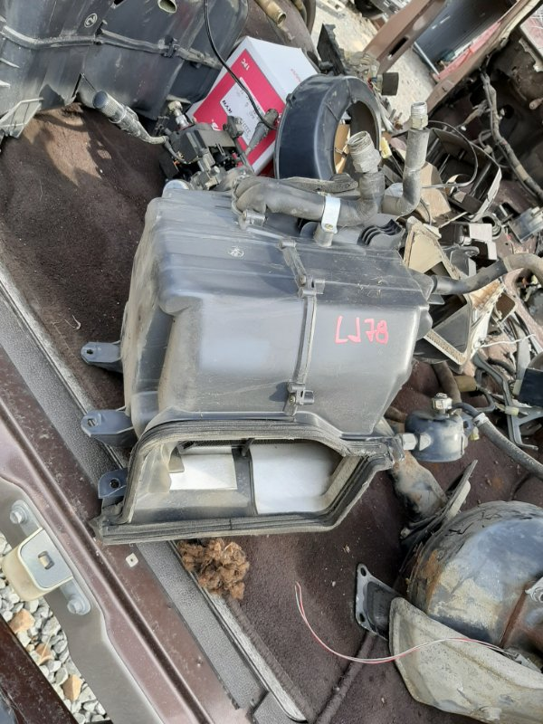 Радиатор кондиционера Toyota Land Cruiser Prado LJ71 2L-TE 1991 (б/у)