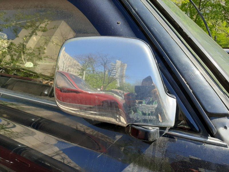 Зеркало Toyota Land Cruiser HDJ81 1HD-T 1994 переднее (б/у)