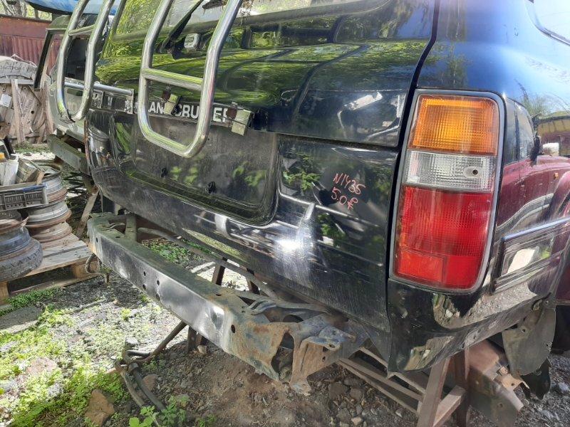 Дверь багажника Toyota Land Cruiser HDJ81 1HD-T 1994 (б/у)