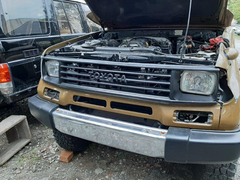 Решетка радиатора Toyota Land Cruiser Prado KZJ78 1KZ-TE 1994 (б/у)