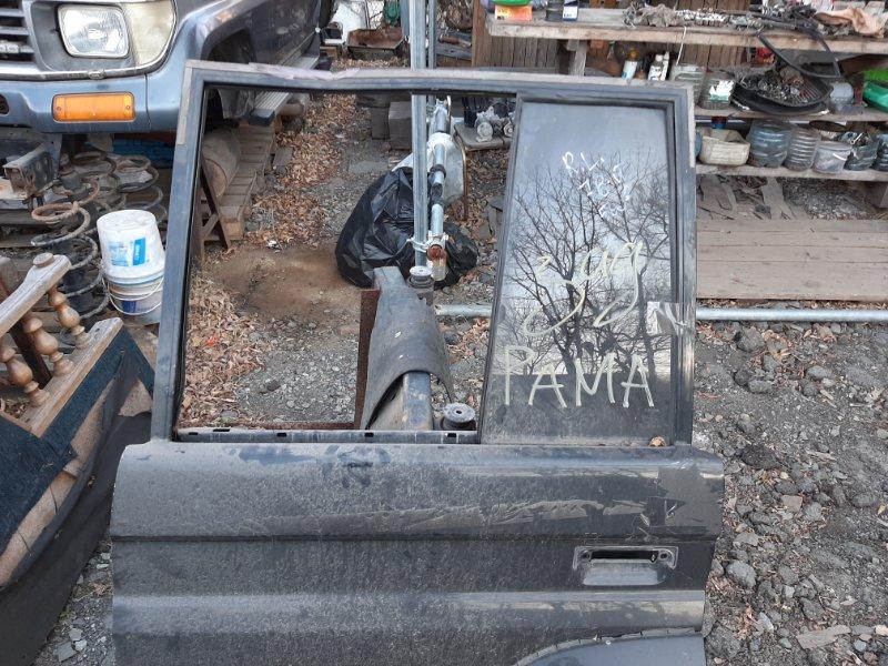 Стекло двери Toyota Land Cruiser Prado KZJ78 1KZ-TE 1994 заднее левое (б/у)