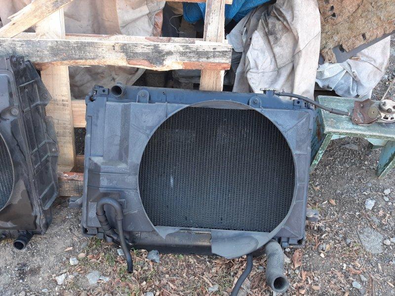 Радиатор основной Toyota Land Cruiser FZJ80 1FZ-FE 1993 (б/у)