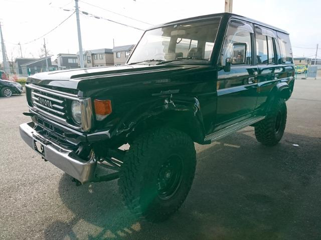 Акпп Toyota Land Cruiser Prado HZJ77HV 1HZ 1991 (б/у)