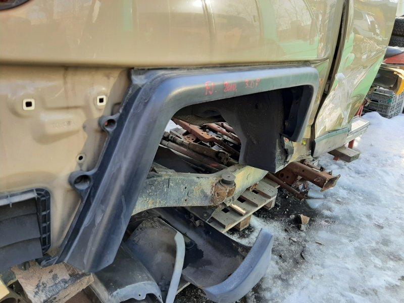 Дефендер Toyota Fj Cruiser GSJ15 1GRFE 2012 задний правый (б/у)