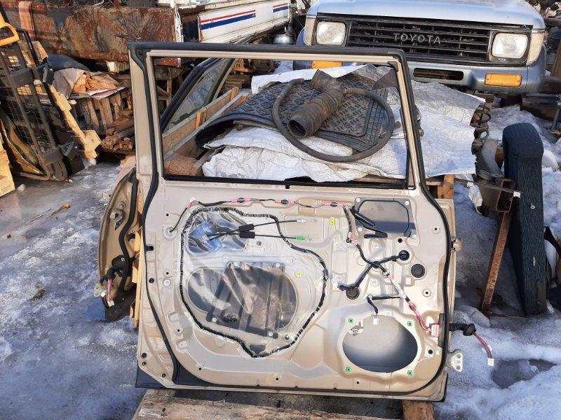 Дверь Toyota Fj Cruiser GSJ15 1GRFE 2012 передняя левая (б/у)