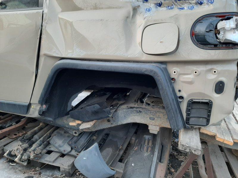 Дефендер Toyota Fj Cruiser GSJ15 1GRFE 2012 задний левый (б/у)